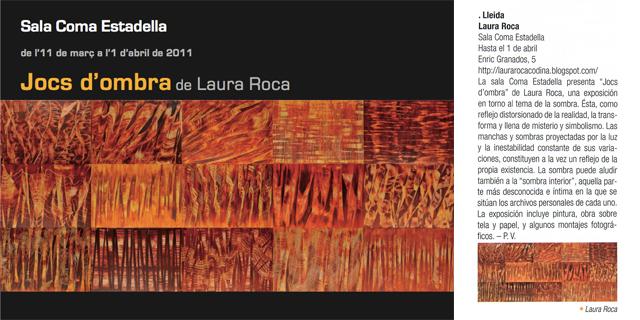 Exposició individual a Lleida